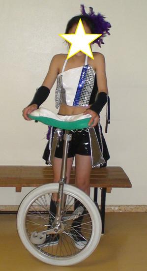 Ayaka_unicycle_star